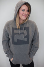 Load image into Gallery viewer, Gray Relevant Hoodie