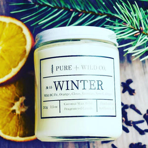 № 15 WINTER - Fir, Orange, Clove, Jasmine, Neroli, Ginger PURE + WILD CO.