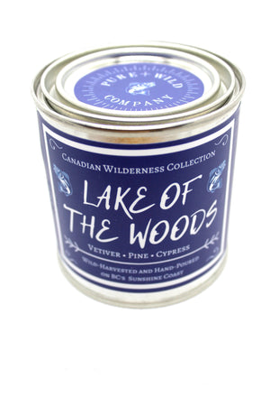 LAKE OF THE WOODS - Vetiver, Pine, Cypress PURE + WILD CO.