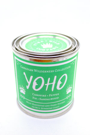 YOHO - Campfire, Pepper, Fir, Sandalwood PURE + WILD CO.