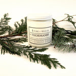 № 02 THORMANBY - Fir, Cedar, Rosewater, Ozone, Jasmine, Musk PURE + WILD CO.