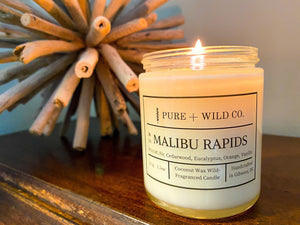 № 11 MALIBU RAPIDS - Fir, Cedarwood, Eucalyptus, Orange, Vanilla PURE + WILD CO.