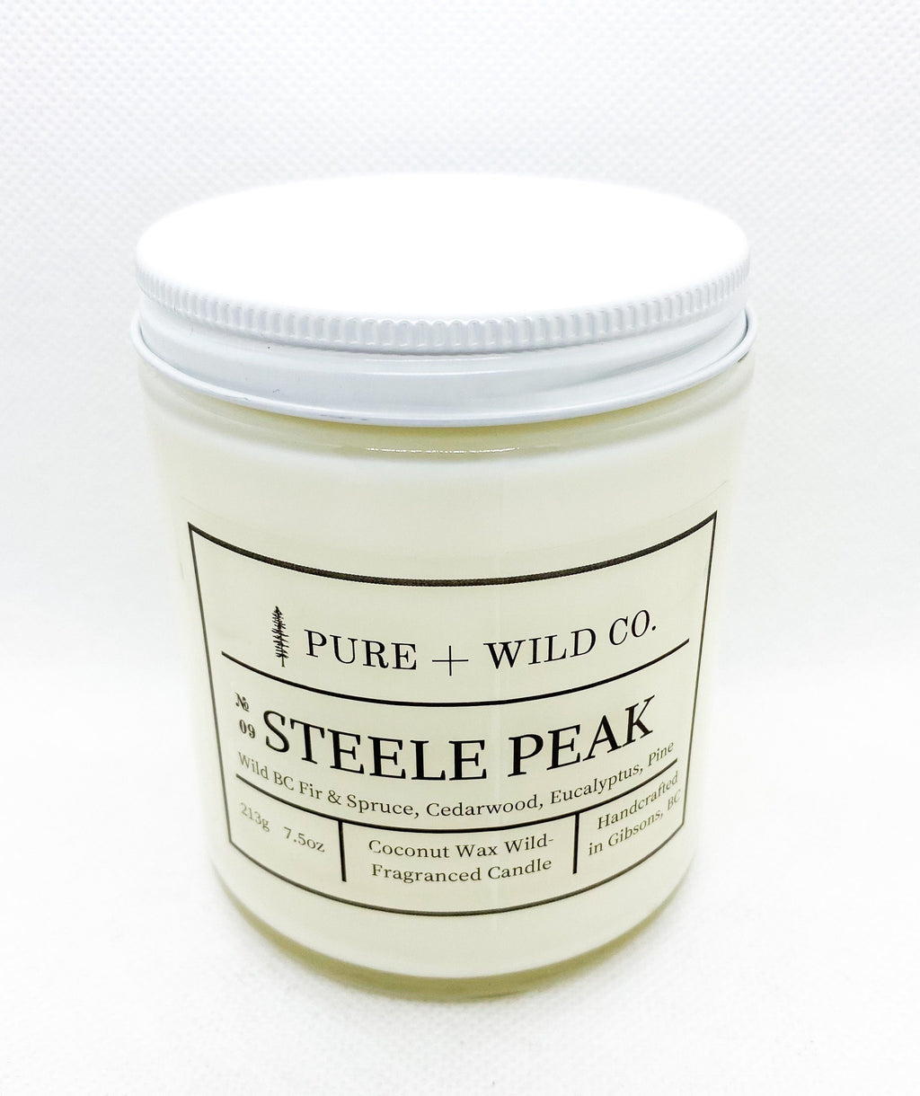 № 09 STEELE PEAK - Fir, Spruce, Cedarwood, Eucalyptus, Pine PURE + WILD CO.