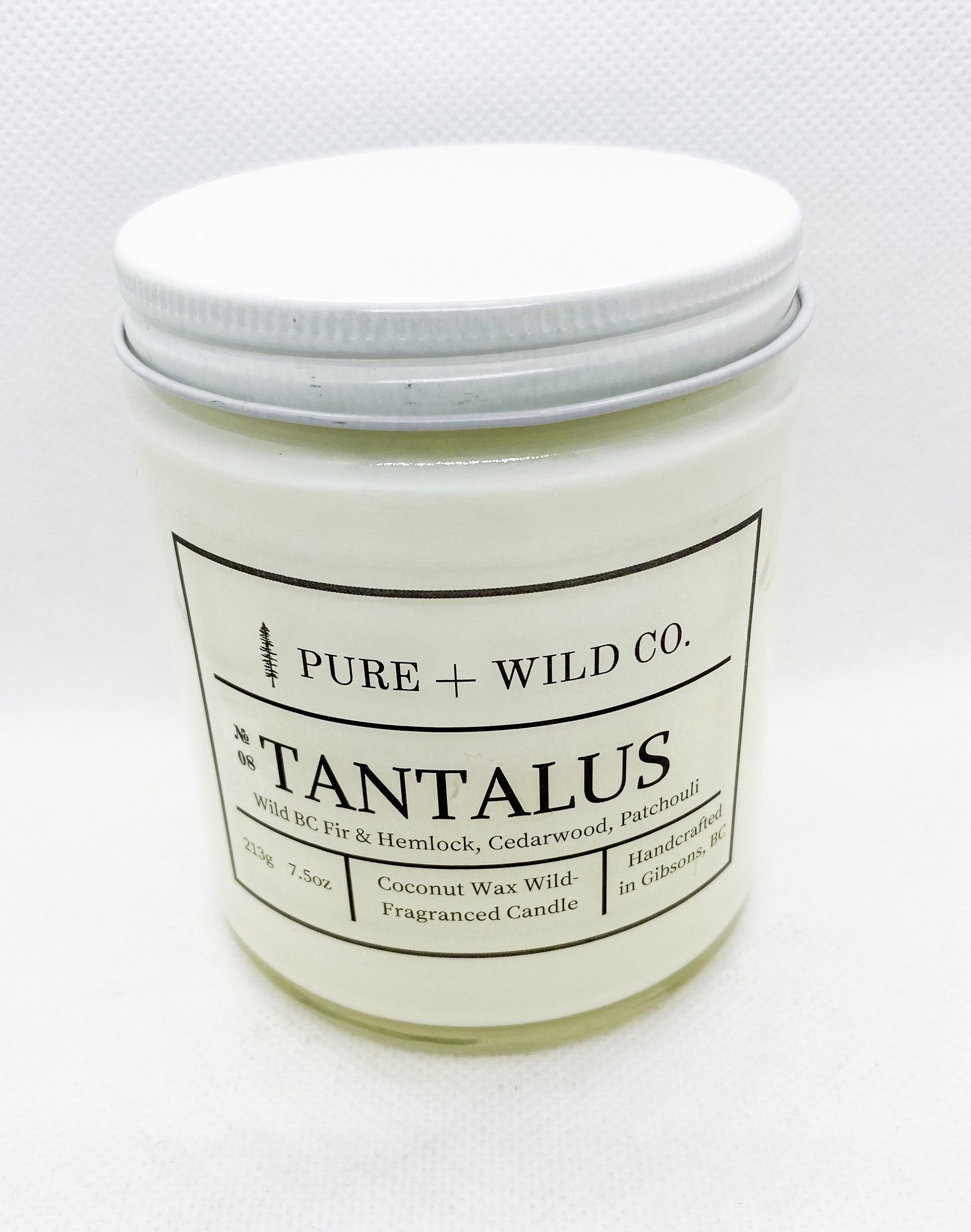 № 08 TANTALUS - Fir, Hemlock, Cedarwood, Patchouli PURE + WILD CO.