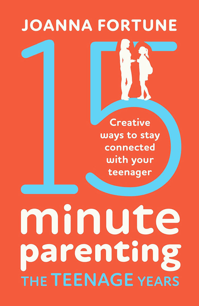 15-Minute Parenting Teenage Years book cover