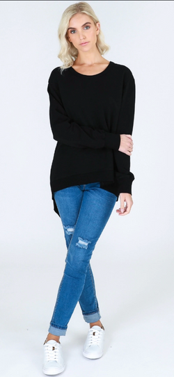Newhaven Sweater Black