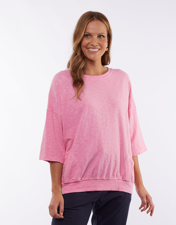 Fundamental Mazie Sweat Bubblegum Pink