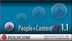 Polycom VSX People + Content IP