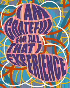 "Charles Burwell, ""I AM GRATEFULL FOR ALL THAT I EXPERIENCE"""