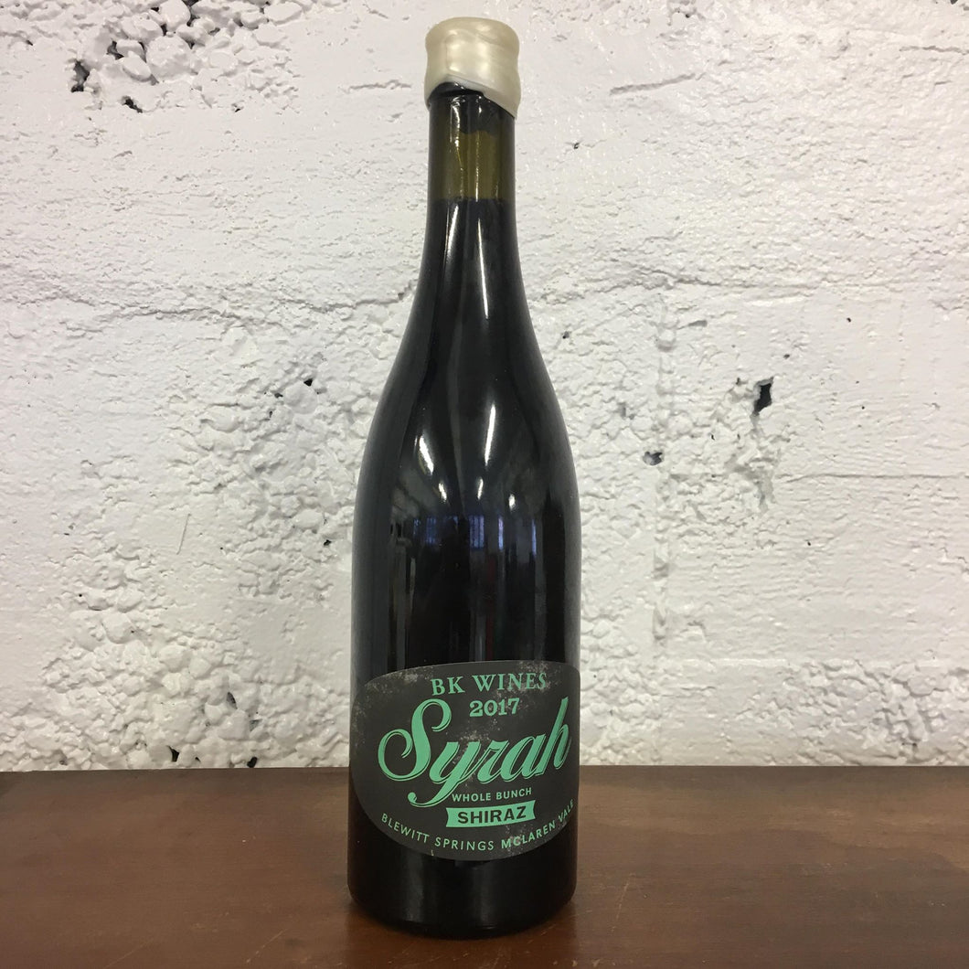 2017 BK Wines Whole Bunch Syrah / Shiraz
