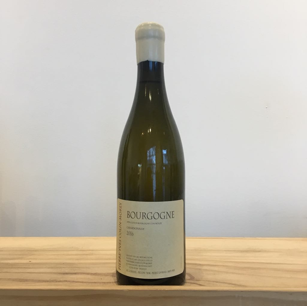 2016 Pierre-Yves Colin Morey Bourgogne Blanc