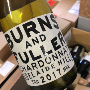 2017 Burns and Fuller Adelaide Hills Chardonnay