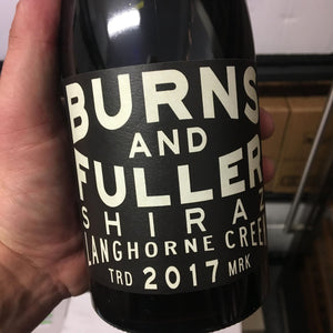 2017 Burns and Fuller Langhorn Creek Shriaz