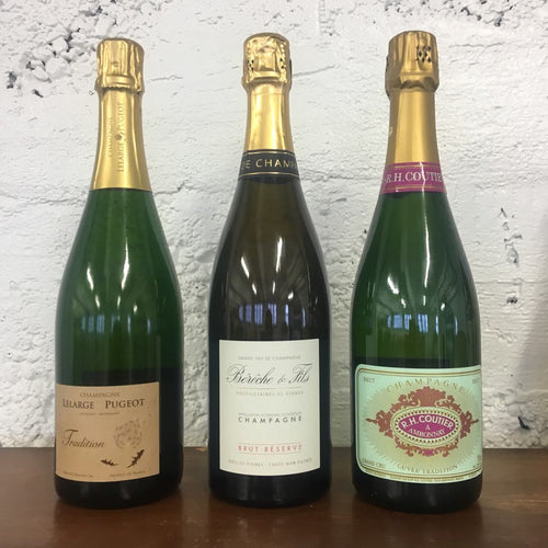 Grower Champagne Three Pack