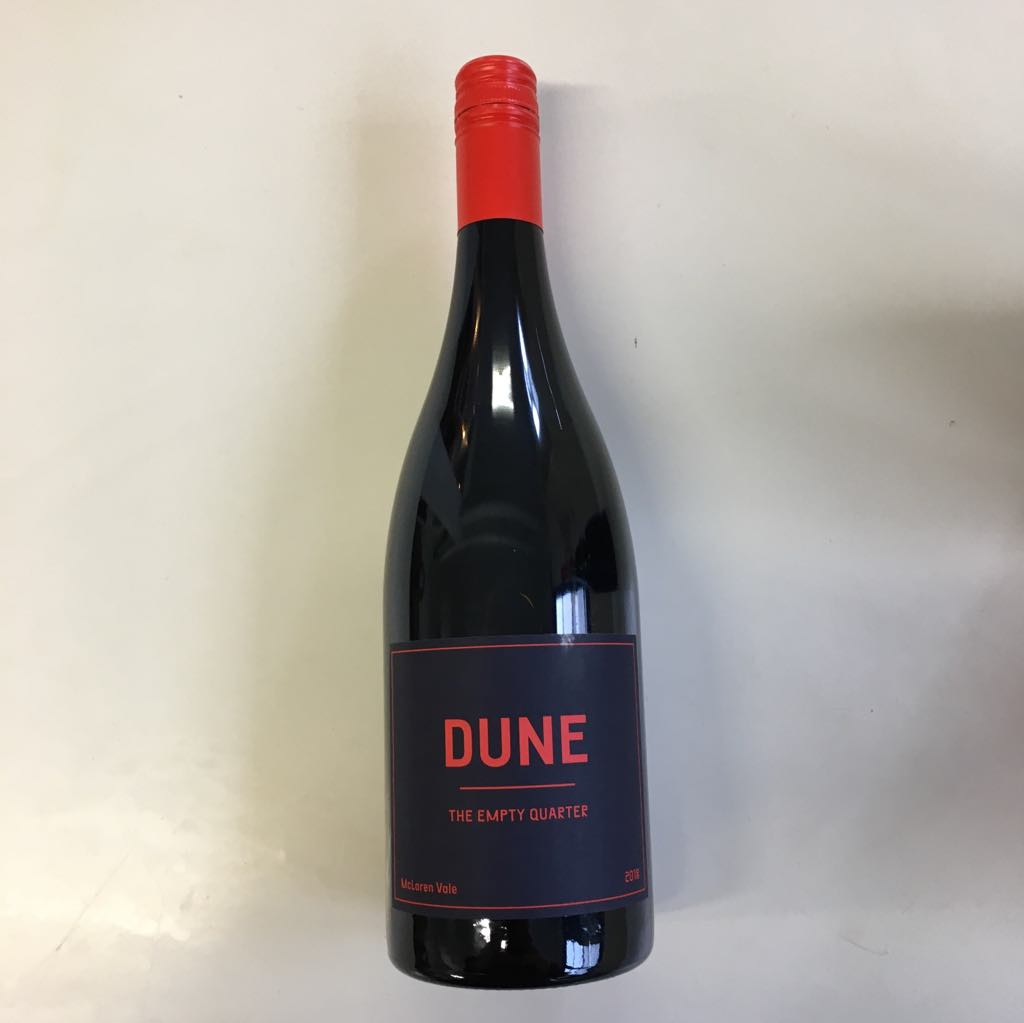 2018 Dune 'The Empty Quarter' Red Blend