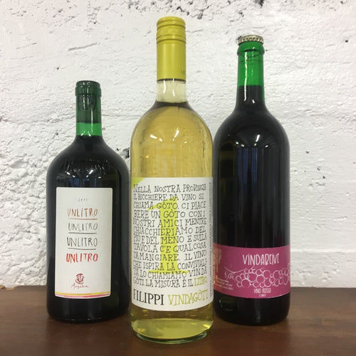 3l Italian Natural Wine 3 Pack