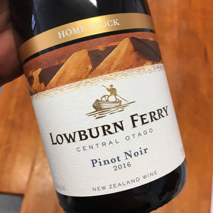 2016 Lowburn Ferry 'Home Block' Pinot Noir