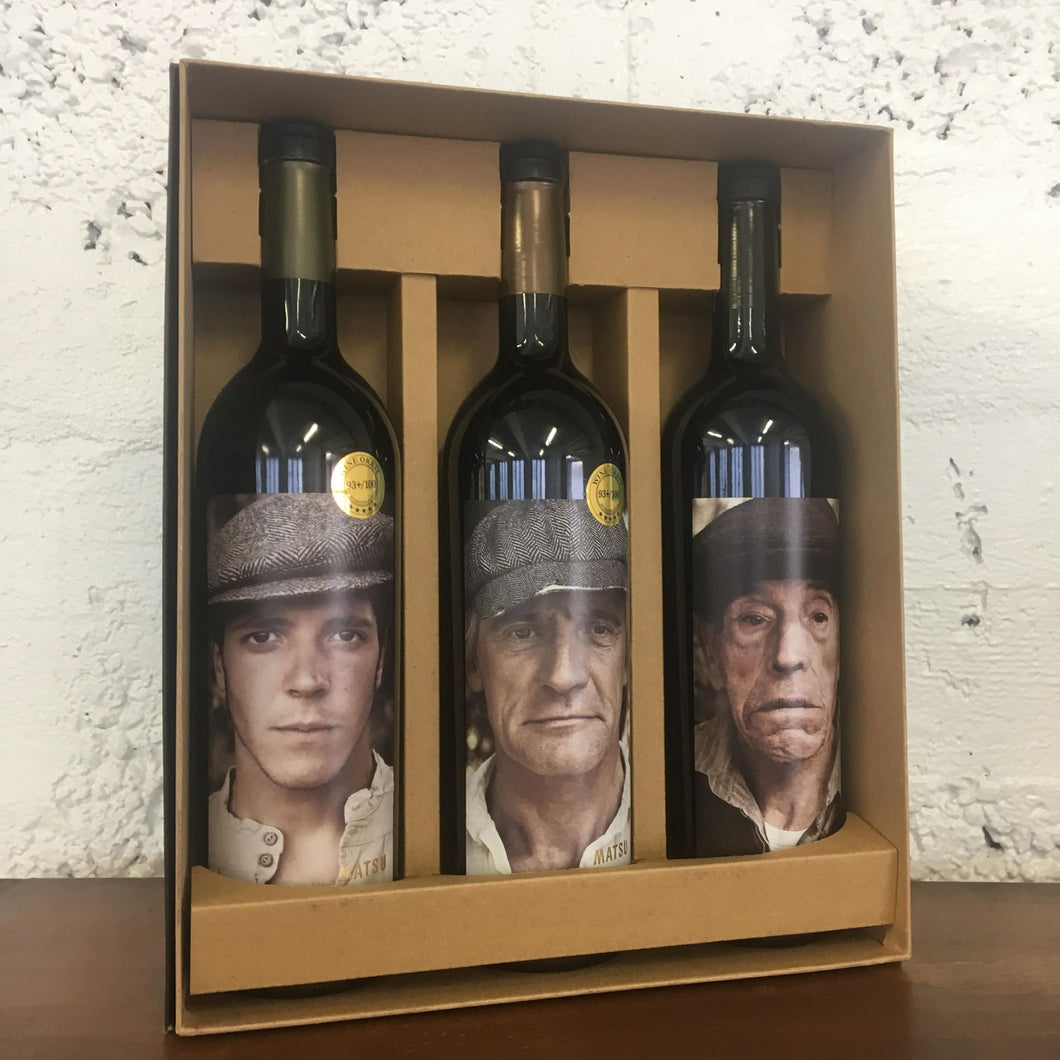 Bodega Matsu Three Bottle Gift Pack