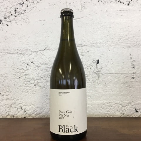 2017 Black Estate Pinot Gris Pet Nat