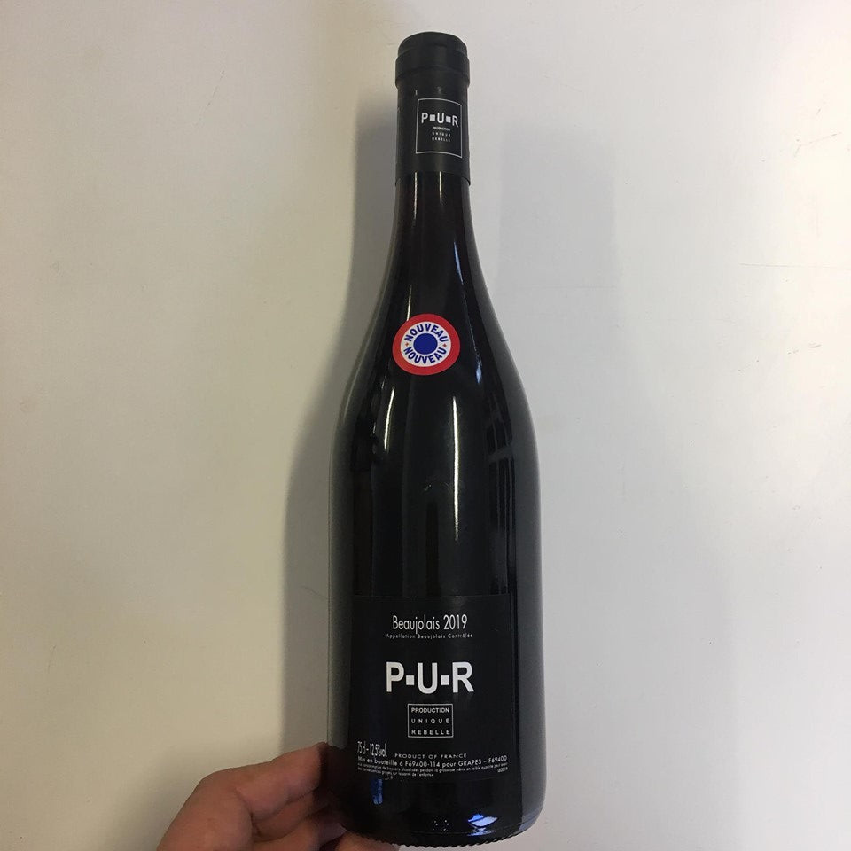 2019 Production Unique Rebelle PUR Beaujolais