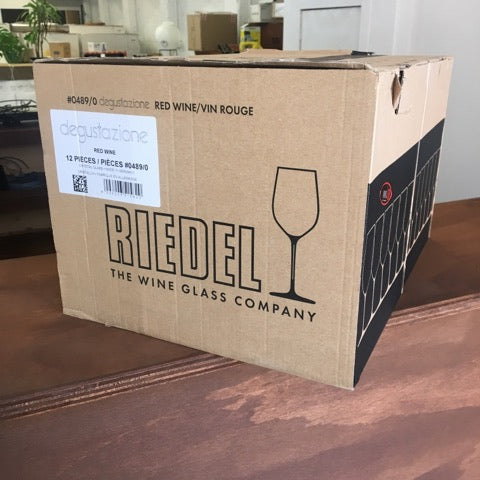 Riedel Degustazione Red Wine Glasses (12) USED ONCE