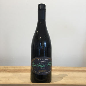 2015 BK Wines Springs Hill Red Blend