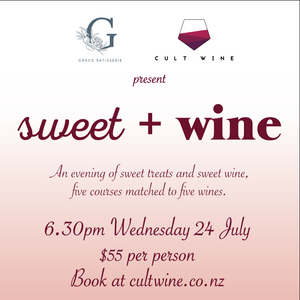 Sweet + Wine with Grace Patisserie