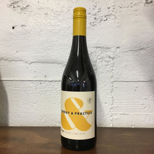 2018 Theory and Practice Syrah