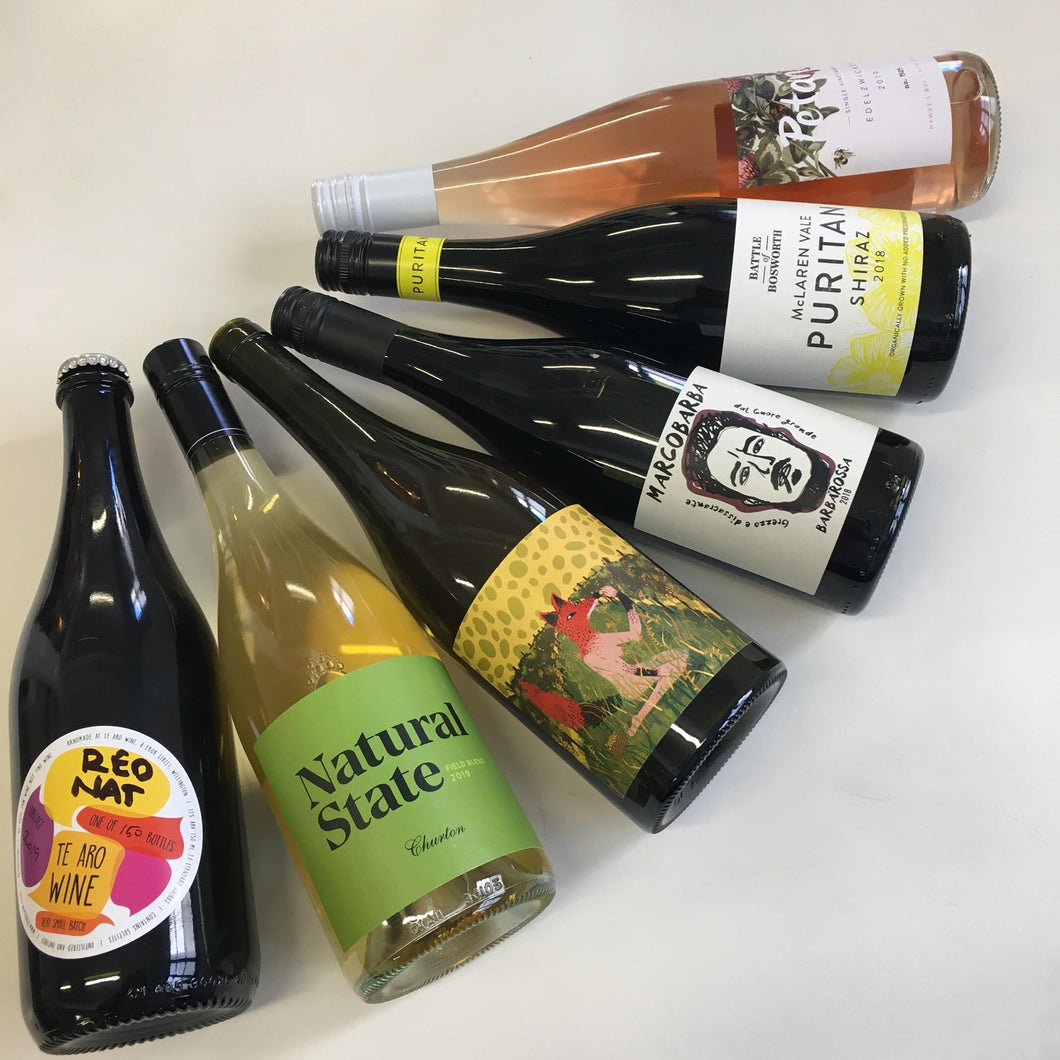 Gift Wine Club: Natural Six Pack Pre-Pay (4 or 6 shipments)