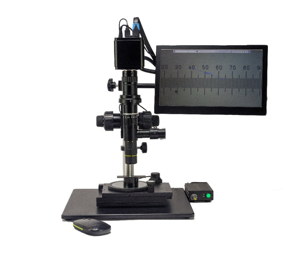 Metallurgical Apo Lens LWD Digital Zoom Video microscope