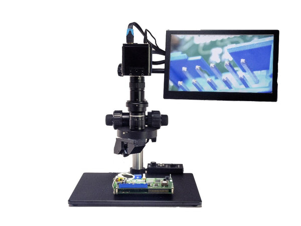 3D Digital Zoom Video microscope