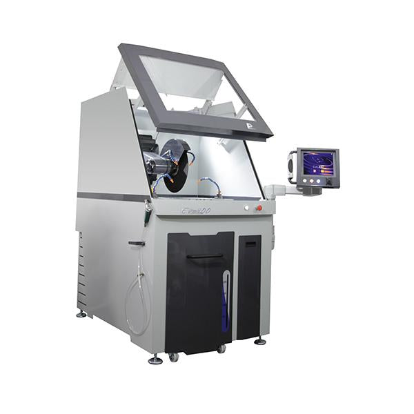 Presi EVO 400 cutting machine open hood