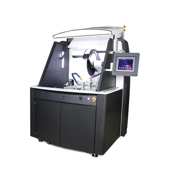Presi EVO 500 cutting machine open hood
