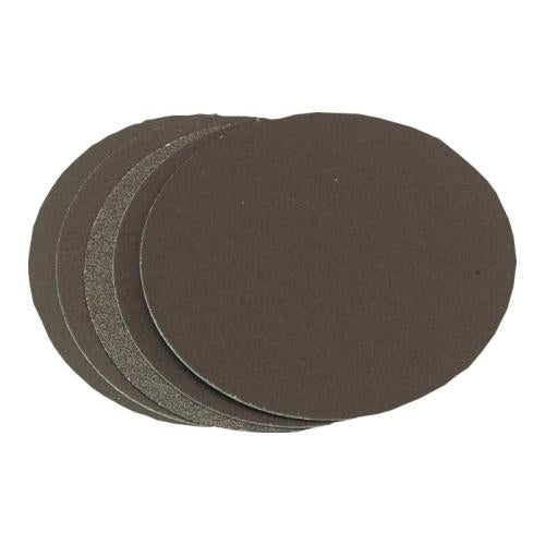 Metallurgical grinding discs with adhesive.