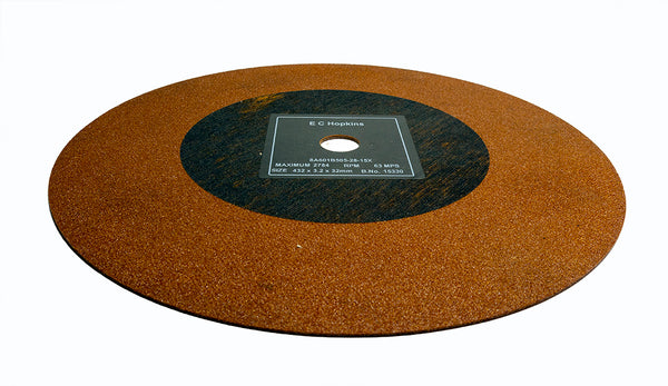 Hard Ferrous, Metallurgical Abrasive Cutting Wheels 432mm x 3.2mm x32mm Pack of 7