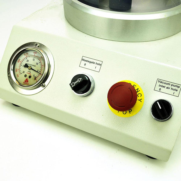 Vacuum Impregnation for cold epoxy resin mounting of metallurgical samples