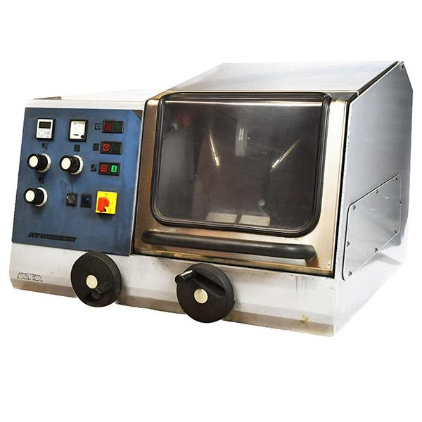 ATM Brilliant 250X Abrasive Cutter closed hood