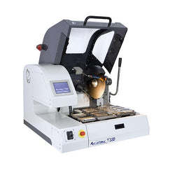 Presi Mecatome T330 high capacity cutting machine open hood