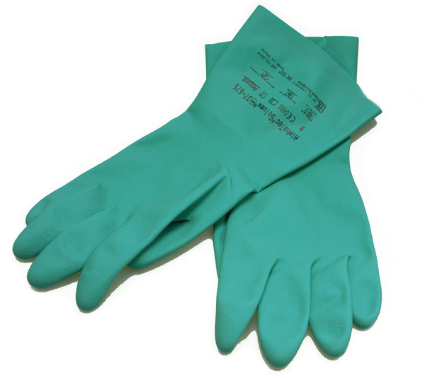 Flocked gloves for Chemical Handling (pk 5 pairs)