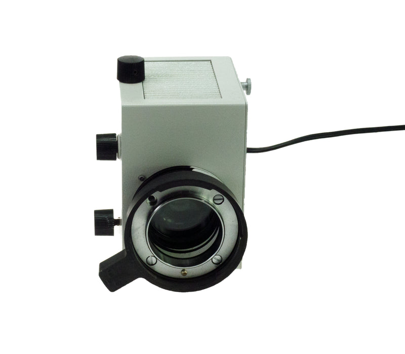 Leitz Microscope Optical Lamp Housing Illuminator GMBH