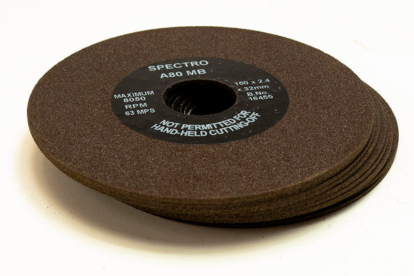 Anglo Abrasive Cutting Wheels 150mm x 1.6 x32mm A80MB Pack of 10
