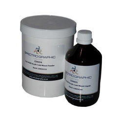 Acrylic Resin Fast Cure VA100 bottle and tub
