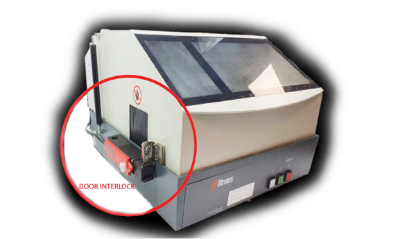 Cutting Machine Door Safety Interlock
