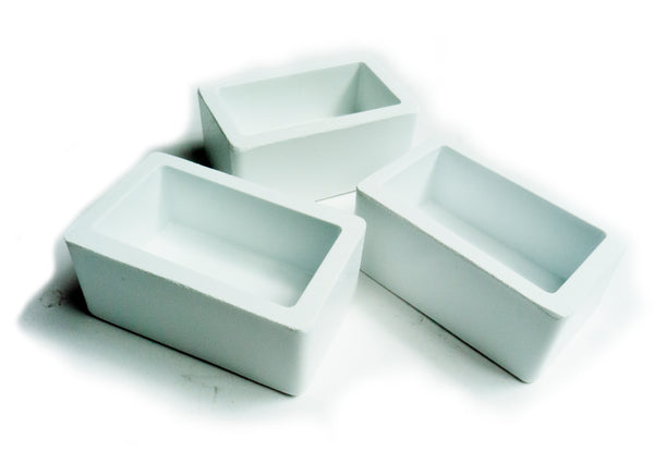 Rectangular Embedding Rubber Moulds 25mm Depth