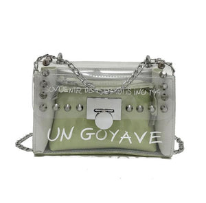 Mimi Studded Bag Green