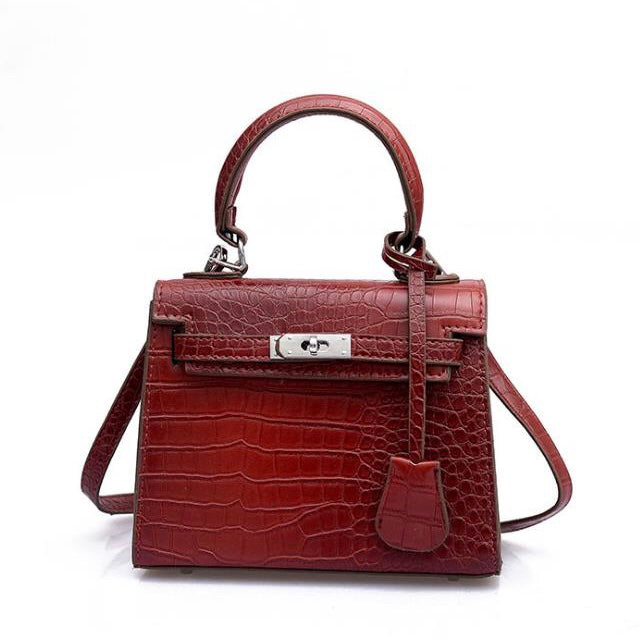Mini Croc Bag Red