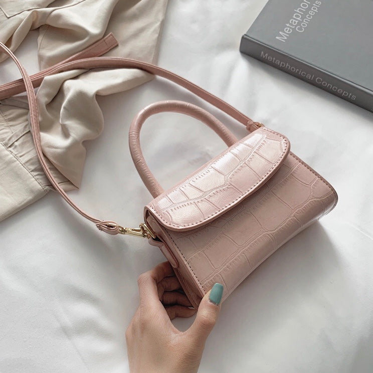 Mica Mini Top Handle Bag - Rose - New Collection