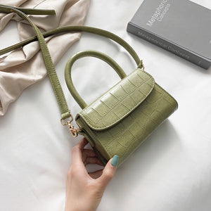 Mica Mini Top Handle Bag - Green - New Collection
