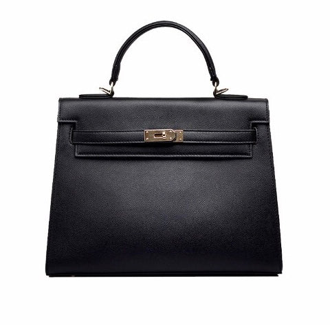 Classic Lock Bag - Regular - Black