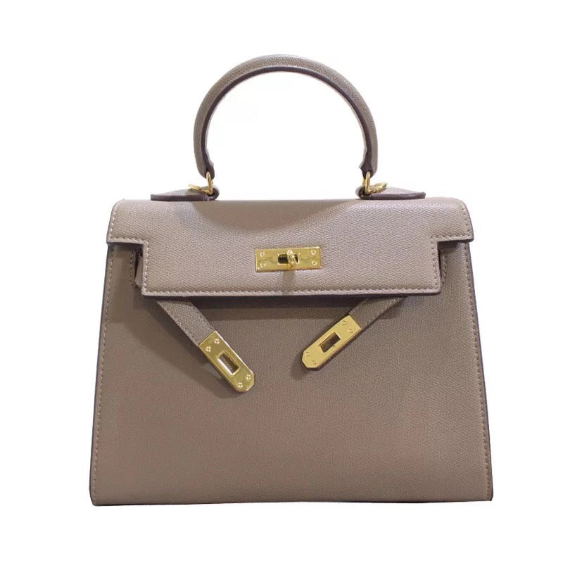 Classic Lock Bag - Regular - Nude